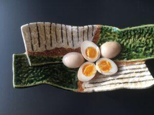 Soya marinerede æg