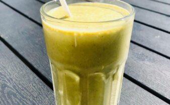 grøn te smoothie