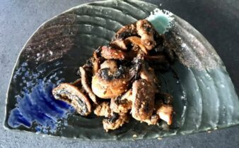 varm champignon salat